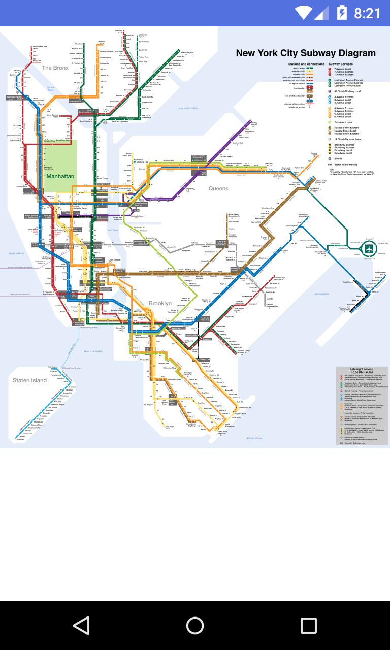Android New York Subway Map.New York Metro Map For Android Apk Download