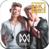 Marcus and Martinus  wallpapres HD icon