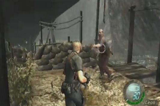 Game Resident Evil 4 Hint poster