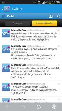 Marbella Care screenshot 2