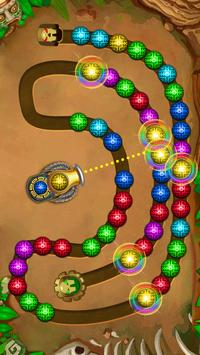 Marble Shooter - Lost Temple - Marble lines screenshot 1
