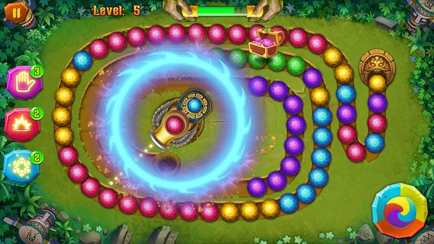 Mayan Temple - Marble Shoot - Marble lines screenshot 4