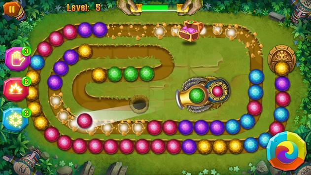 Mayan Temple - Marble Shoot - Marble lines screenshot 9
