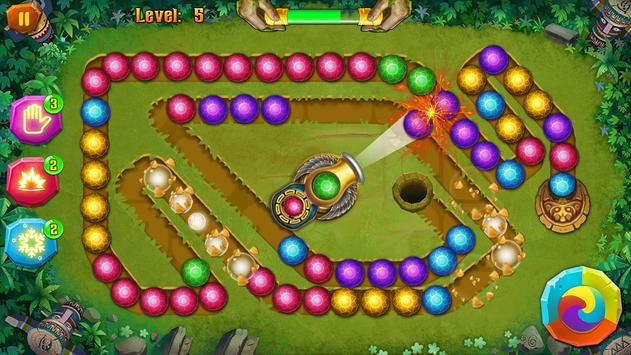Mayan Temple - Marble Shoot - Marble lines screenshot 11