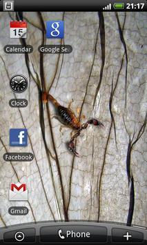 Scorpio - Live Wallpaper poster