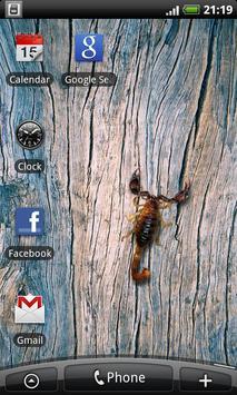Scorpio - Live Wallpaper apk screenshot