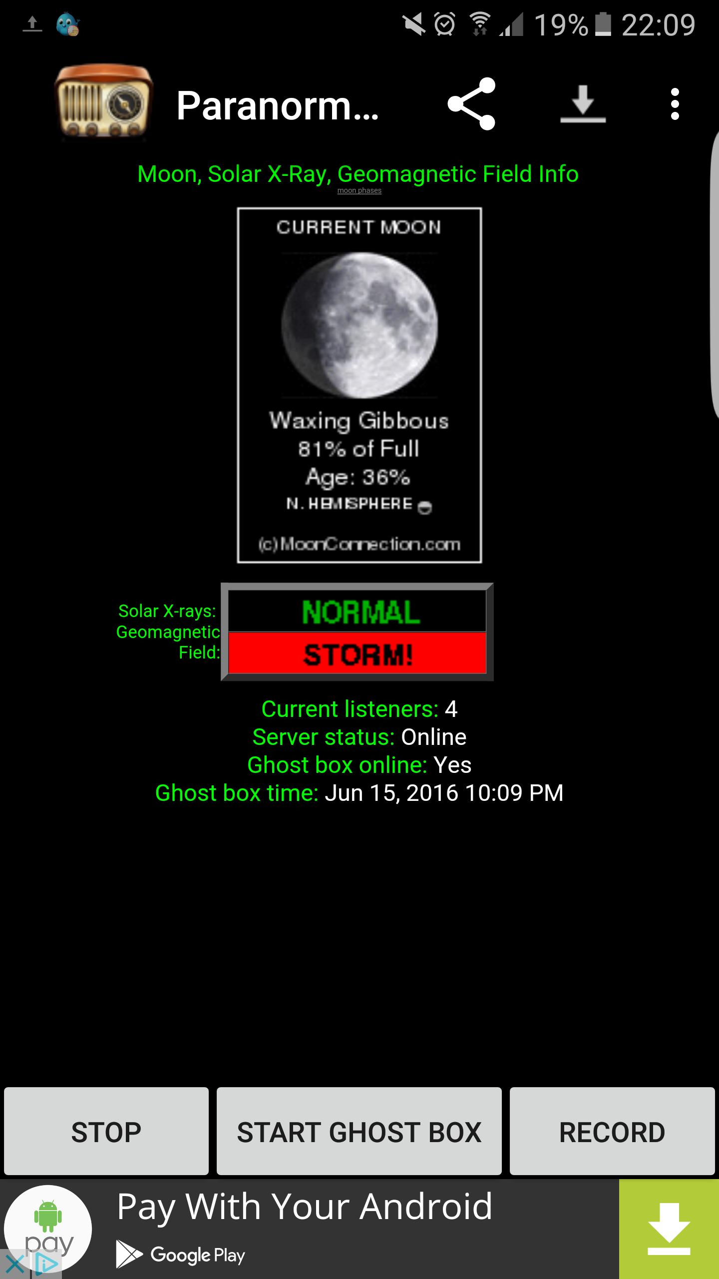 Paranormal Live Ghost Box for Android - APK Download