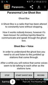 72+ Paranormal Live Ghost Box Apk - Live Ghost Box Stream 2