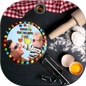 Father's Day Cake Frames icon