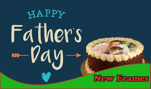 Happy Father's Day Cake Frames poster