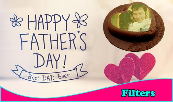 Happy Father\'s Day Cake Frames APK Download - Free Photography APP ...