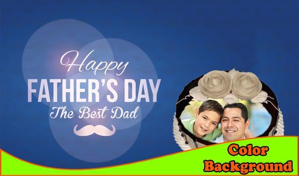 Happy Father's Day Cake Frames apk screenshot