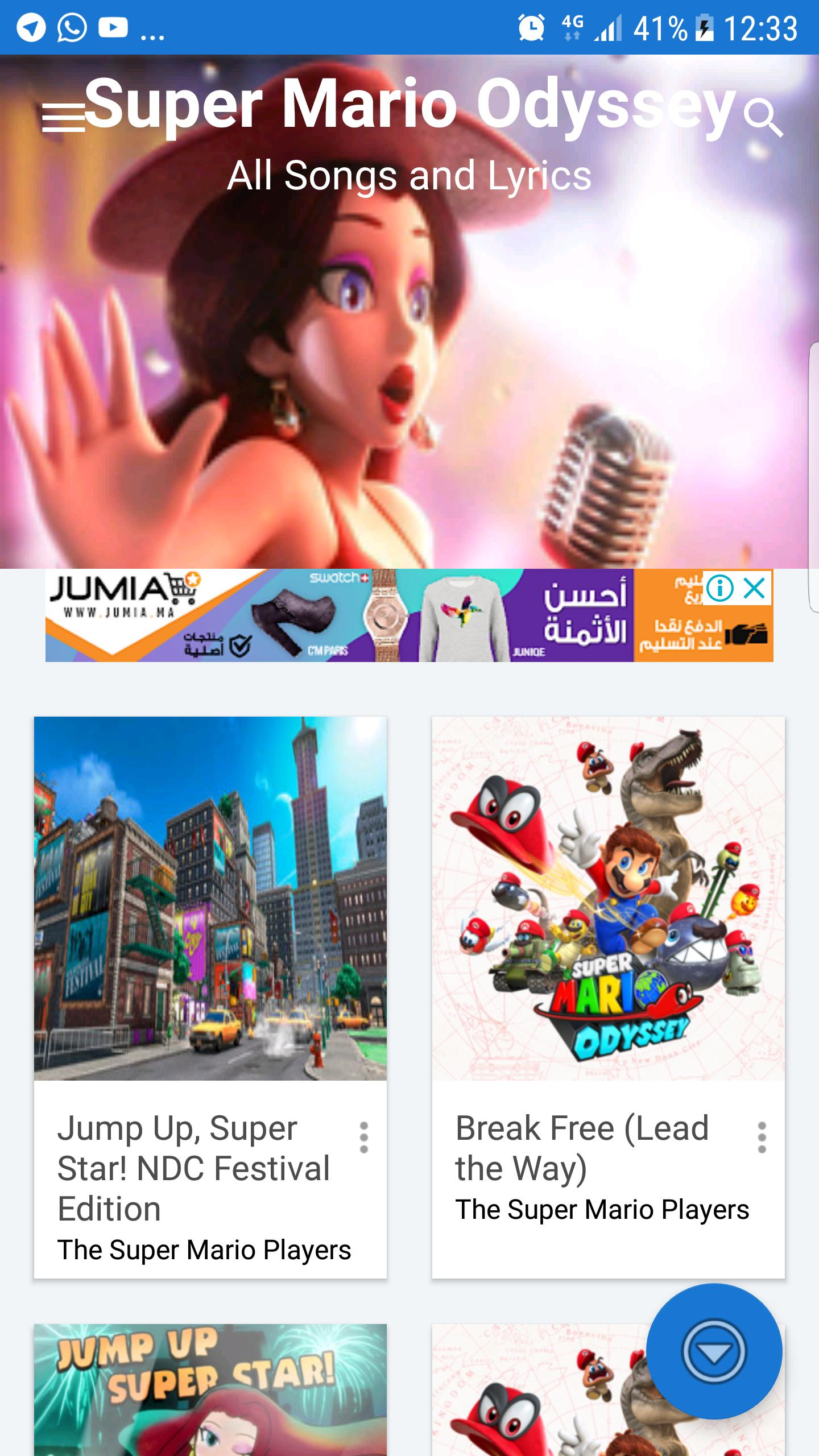 All Songs And Lyrics For Mario Odyssey For Android Apk Download