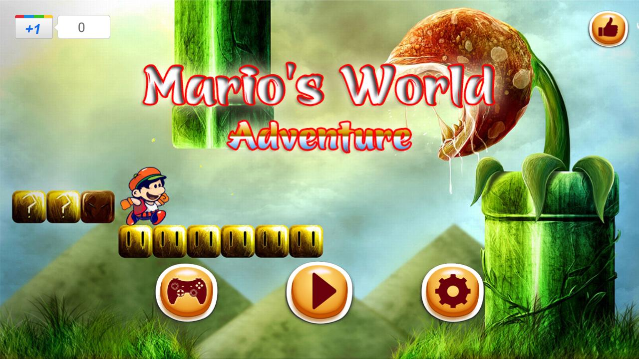 Mario S World Jungle Adventure For Android Apk