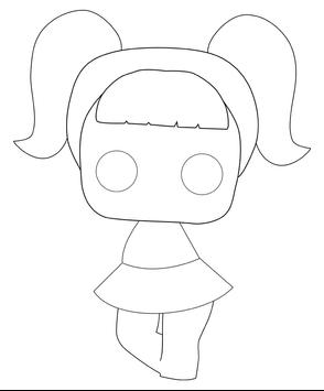 How to draw dolls in stages screenshot 6