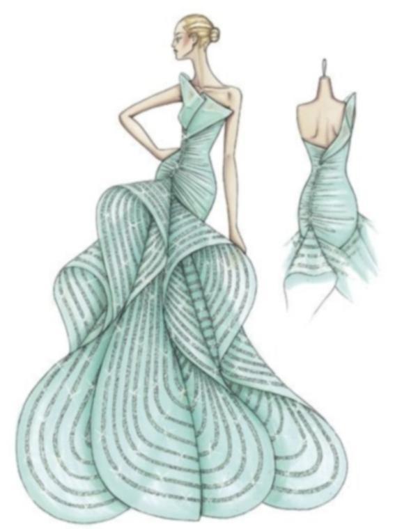 Dibujos De Vestidos De Diseñador Bocetos For Android Apk