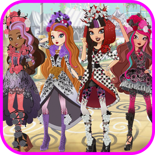 How to draw ever after high step by step