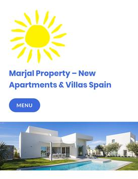 Marjal Property Spain poster