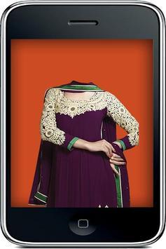 Indian Salwar Photo Fashion poster