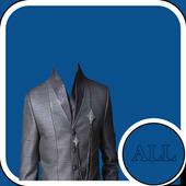 Indian Sherwani Suit Camera icon