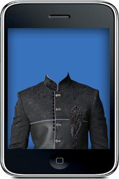 Indian Sherwani Suit Camera apk screenshot