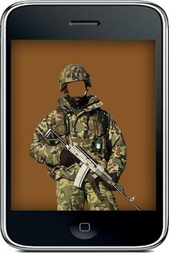 Militaryman Uniform Suit apk screenshot