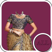 Saree Blouse Suit Editor icon