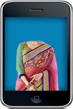 Saree Designs Editor Suit poster