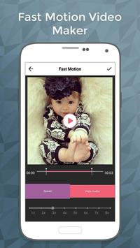Fast Motion Video Maker screenshot 1