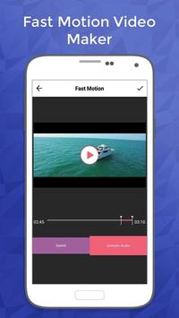 Fast Motion Video Maker screenshot 2