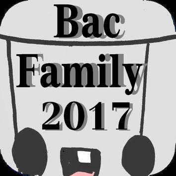 Bac Family 2017 poster