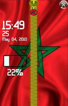 Maroc Zipper poster