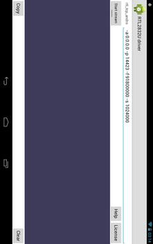 RTL2832U driver apk screenshot