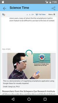 Science News screenshot 1