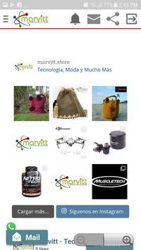 MARVITT Comercio de tecnología, fashion, bike y + screenshot 1