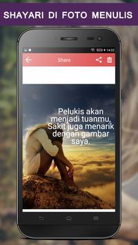 Write Indonesian Poetry on Photo screenshot 5