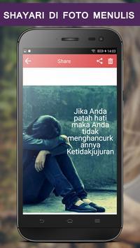 Write Indonesian Poetry on Photo screenshot 6
