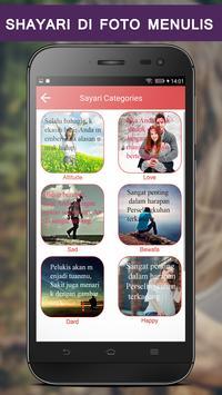 Write Indonesian Poetry on Photo screenshot 1