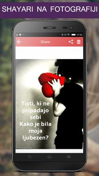 Write Slovenian Poetry on Photo poster