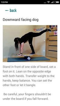 Balance board tricks Cartaz