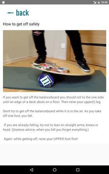 Balance board tricks imagem de tela 4