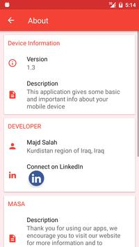 Device Information screenshot 2