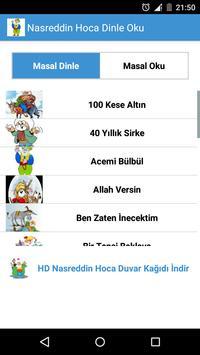 Nasreddin Hoca Dinle Oku poster