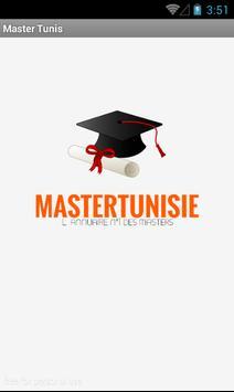 Master Tunisie poster