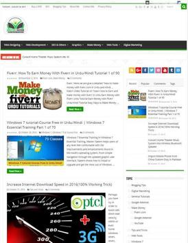 Master Naeem Website apk screenshot