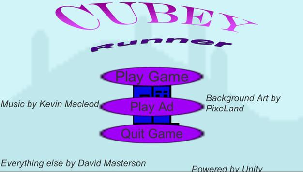Cubey Runner poster
