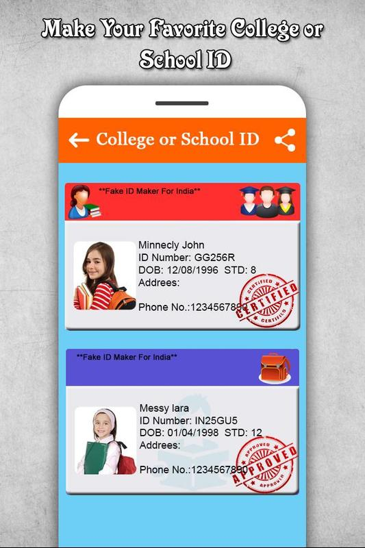Card For Id Download Apk Maker Android - Fake fyd lapomarede