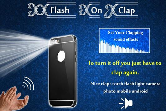 Flash Light on Clap poster