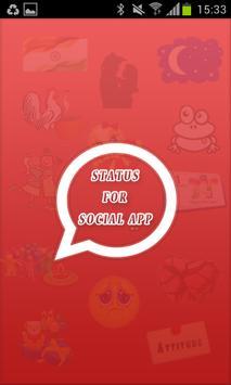 Social Status 4 You Hindi screenshot 1