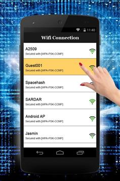 Wifi Hacker Password Simulator apk screenshot